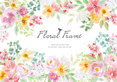 Floral frame 2020_1