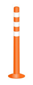 Lane separation mark (Orange)
