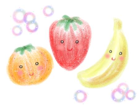 一護,Mikan和香蕉