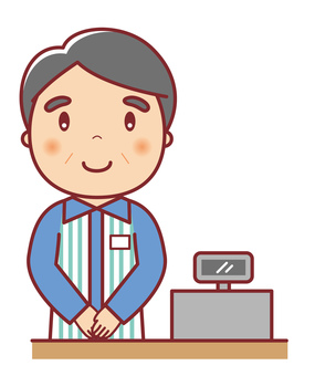 Convenience store owner manager