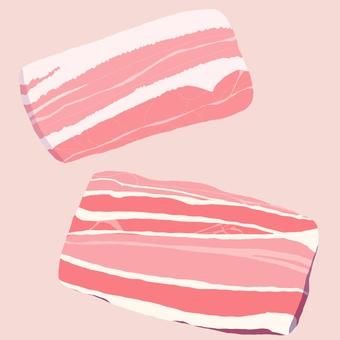 생고기 삼겹살