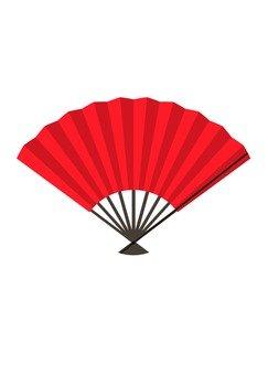 Fan (red)