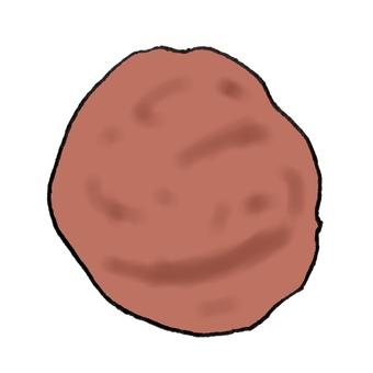 Salted plum