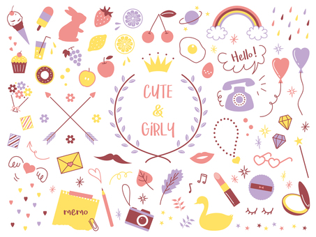 Simple Girly Rough Set 02