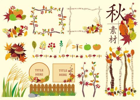 Autumn material 02