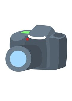 Single lens reflex camera (black 2)