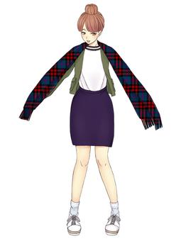 Pattern ② Female 16 (10's)