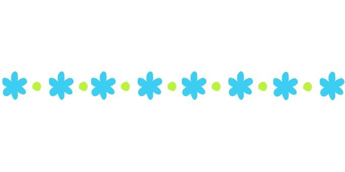 Dividing line (* · light blue)