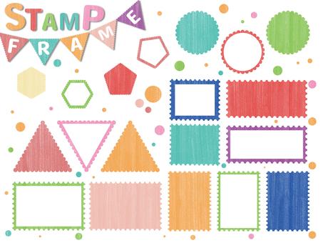 Stamp wind frame set