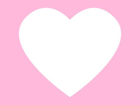 Simple heart frame