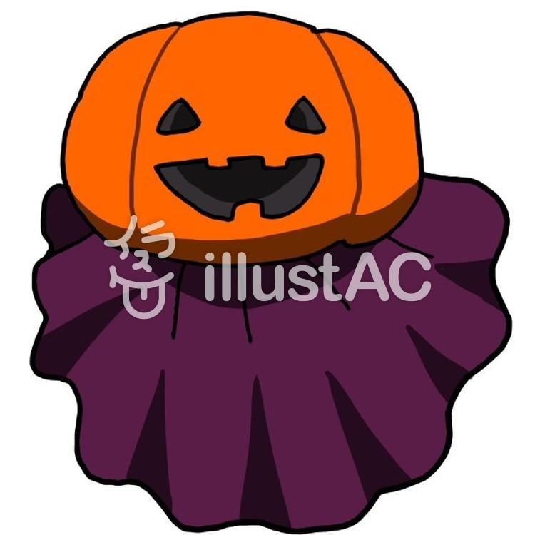 かぼちゃのおばけイラスト No 1248987無料イラストならイラストac
