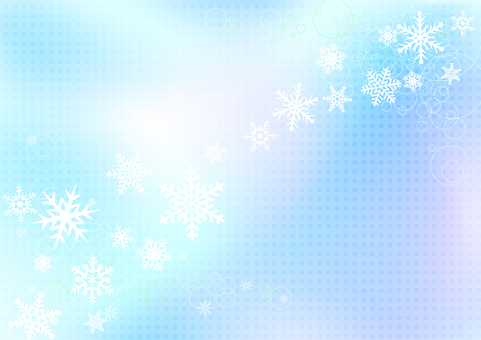 Winter background material 10