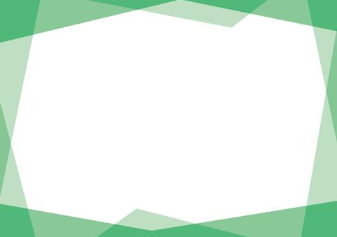 Early summer green random frame (picture frame / wallpaper)