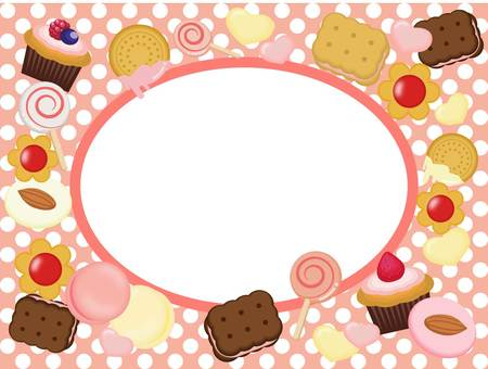 Candy frame pink