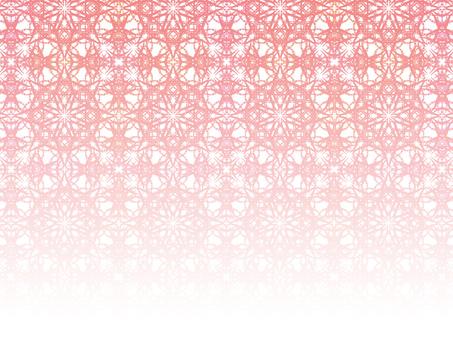 細菱形2(粉紅色漸變)