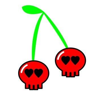 頭骨的櫻桃