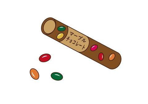 大理石巧克力