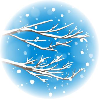 Illustration of winter image