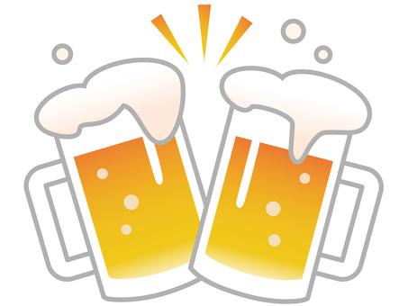 60611. Beer toast
