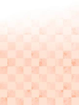 Checkered pattern background pink