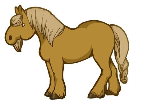 Heavenly equestrian (brown hair)