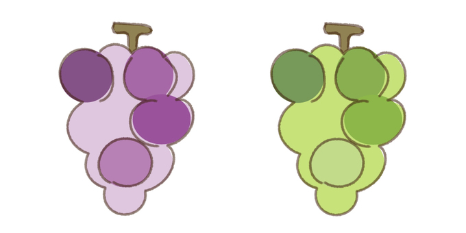Grapes and Muscat