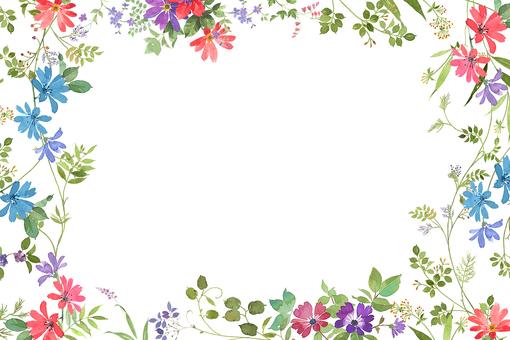 프레임 꽃