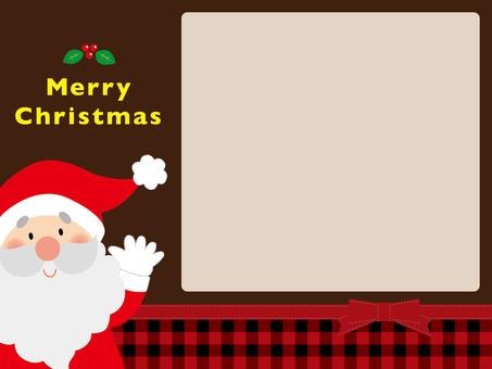 Santa background 02
