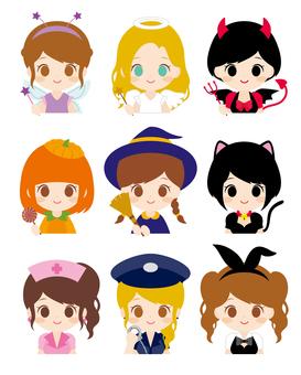 Halloween Girls Various