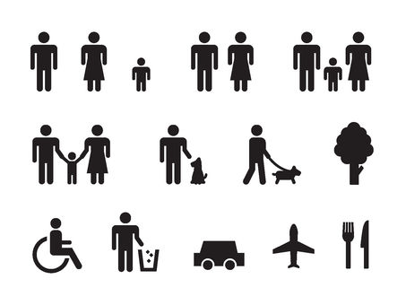 Living pictogram