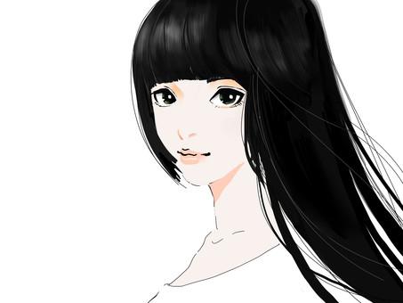 黑頭髮的女人