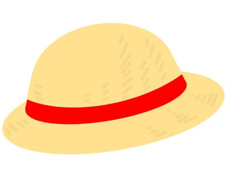밀짚 모자 1