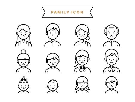 가족 아이콘 1