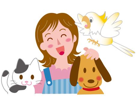 Various occupations - pet shops