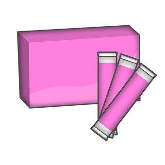 Powder supplement Pink