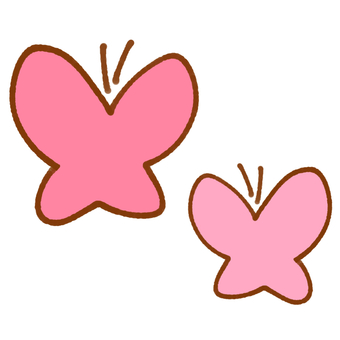 Butterfly 2 (pink)