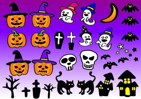 Halloween hand-made material