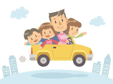 家族_ドライブ