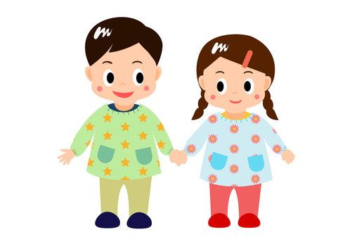 Good friends kindergarten / nursery school children