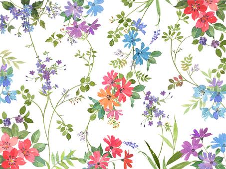 花 パターン
