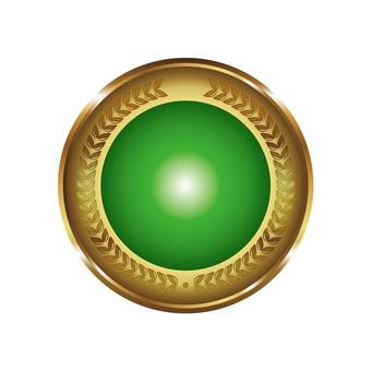 Free Cliparts : Web material badge Badge - 691617 | illustAC