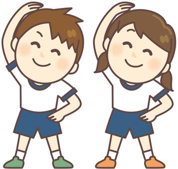 Preparation gymnastics _ gym children's gymnastics