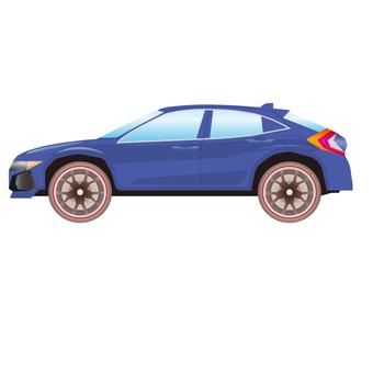 SUV car illustration
