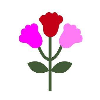 Red flower 6