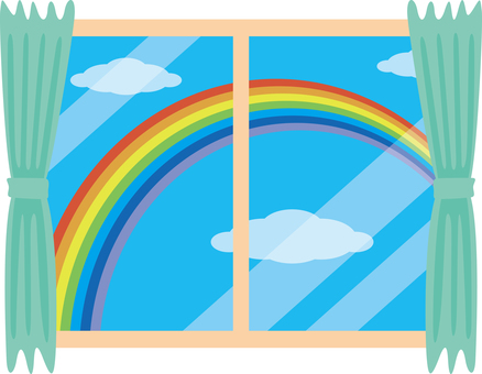 Window rainbow
