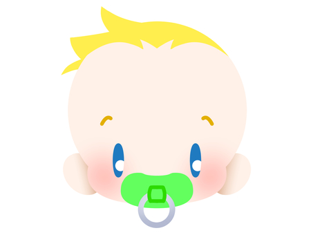 Blonde baby - face 20181201