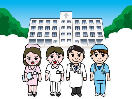 Medical (2) Hospital and medical staff