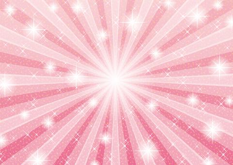Dazzling light pink