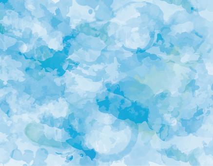 Light blue background material texture wallpaper blue handwriting