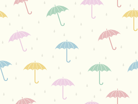 Umbrella background pattern 1